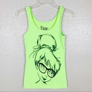 Disney Tinkerbell Graphic Tank Size Small